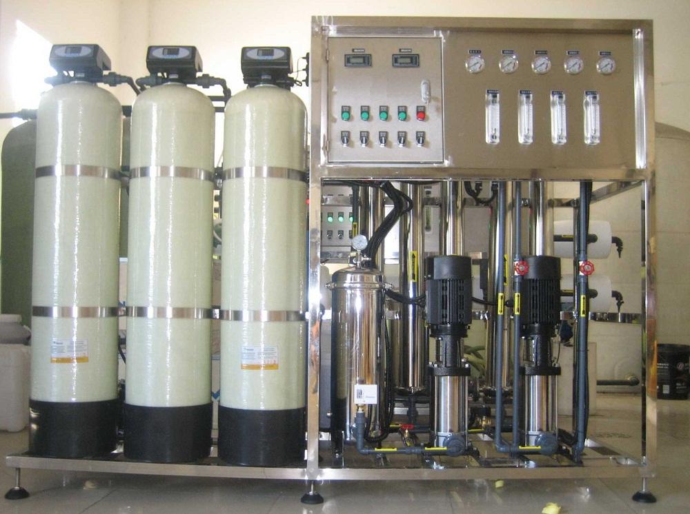 500L/H反渗透水处理设备